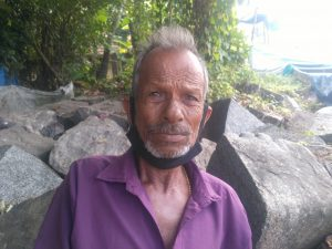 Shivan Puliyanaruparambil, fisherman