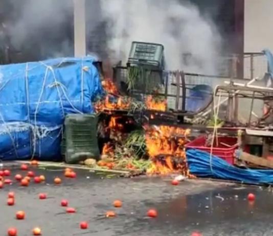 shops set ablaze in Cherthala during BJP hartal