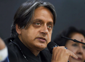 British parliament has right to discuss about farmers protest says Tharoor