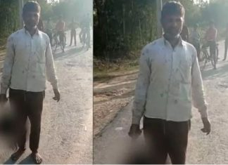 Father cuts Daughter's head in UP