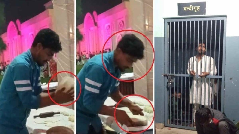 NSA against man who spit on rotis while cooking at wedding in UP's Meerut