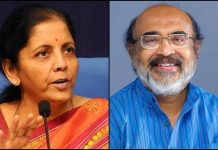Nirmala Sitharaman and Thomas Isaac