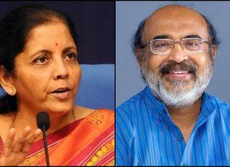 Nirmala Sitharaman and Thomas Isaac