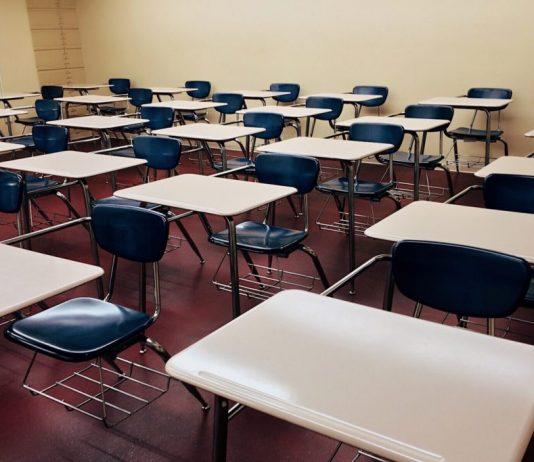Saudi school classroom