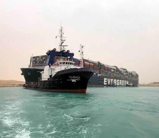 Suez Canal Block