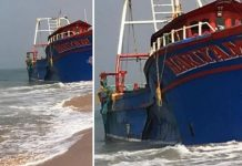 Trawler boat