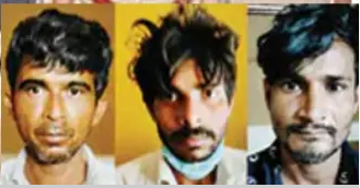 three arrested for ATM robbery in Kannur