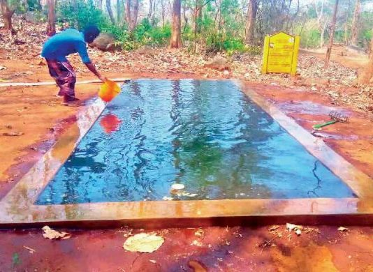 FOREST DEPARTMENT DRINKING WATER FOR ANIMALS