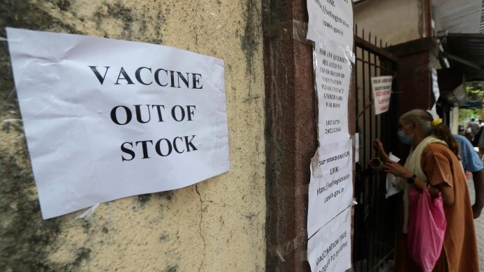 Rajasthan, which once topped Covid vaccination charts, is now left with stock for 'just 3 days'