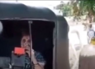Satara woman waits in autorickshaw with oxygen cylinder