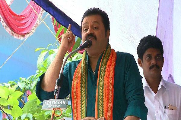 Suresh Gopi, C: News Minutes