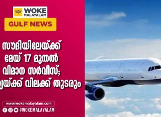 flight services to saudi will be open on may but indians are restricted