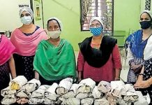 kudumbasree workers provide free food for covid first line treatment centre
