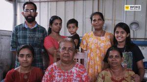 പുളിയന്നത് കാറ്ററിംഗ് നടത്തുന്ന ഫിലോമിനയും കുടുംബവും Puliyanath Caterings Mundamveli (c) Woke Malayalam
